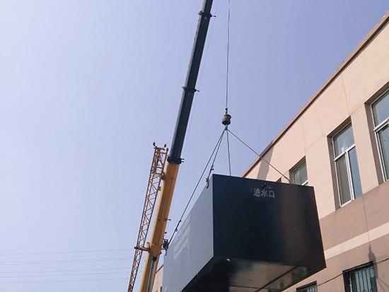 一体化beplay2网址设备吊装